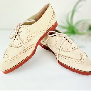 Vintage Leather Oxfords by Hunt Club
